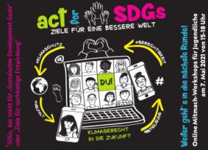 Act for SDGs – Ziele für eine bessere Welt