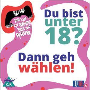 Read more about the article Wir sind U18 Wahllokal! Komm vorbei und mach dein Kreuz (X)